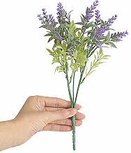 QUINTRA Künstliche Blumen Lavendel Brautstrauß