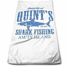 Quints 1362 Handtuch mit Haifischfischerei Amity