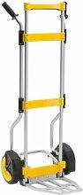 QUIPO Sackkarre KlappStar - Tragfähigkeit 180 kg, Aluminium - ab 1 Stk - Ladekarre QUIPO-Transportgerät Rollkarre Sackkarre Stapelkarre Transportkarre