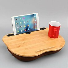 QULONG Laptop-Bett-Tabellen, tragbare Lap Stehen
