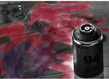 Quotes Spray Paint Fotodruck in Burgunderrot East