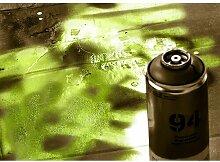 Quotes Spray Paint Fotodruck in Lindgrün East