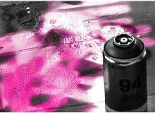 Quotes Spray Paint Fotodruck in Magenta East Urban