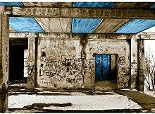Quotes Vandalism Fotodruck in Baby Blau East Urban