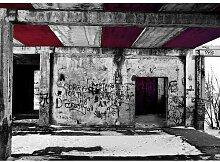 Quotes Vandalism Fotodruck in Burgunderrot East
