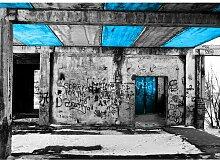 Quotes Vandalism Fotodruck in Türkis East Urban