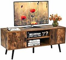 QuRRong TV Schrank Industrieller TV-Stand,