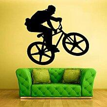Quszpm Vinyl Aufkleber Schlafzimmer Sport Fahrrad