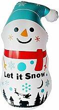 QUUY 3.6ft Weihnachts Aufblasbarer Schneemann,