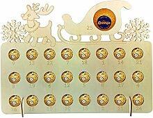 QUUY Weihnachten Adventskalender Ornamente