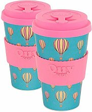 QUY CUP. Balloon Bamboo Coffee To Go Becher – 2