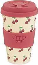 QUY CUP. Ciliegia. Kaffeebecher to Go, Travel Mug,