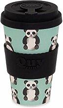 QUY CUP. Panda. Kaffeebecher To Go, Travel Mug,