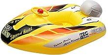 QUYY Kinder Aufblasbare Boot Mit Lenkrad Baby Pool