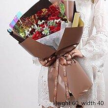 QWEASD Künstliche Blume Lehrer Geschenk an Kunden