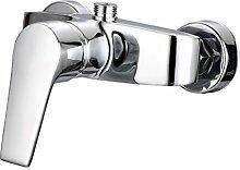 Qwer alle Kupfer Dicke Mischbatterie Dusche Wasserventil Bad Armatur