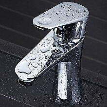 Qwer alle Kupfer Waschbecken Wasserhahn warmes und kaltes Waschtisch Armatur Waschtisch Armatur Armatur, Waschtisch Armatur