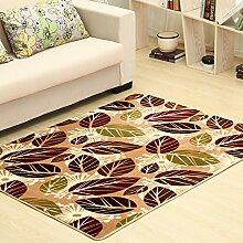 Qwer Coral Matten dicke Wohnzimmer Couchtisch matten Schlafzimmer Bett Grenze Folie Füße, 160*200, Akihabara Teppiche