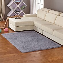 qwer Das Wohnzimmer Schlafzimmer Küche Klappe mat Wolle pads Couchtisch Fuß und Badezimmer mit separatem Kojenbett, 40x60cm, silber, grau