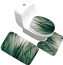 QWER Dreiteiliges Badezimmer Toilette Memory Foam