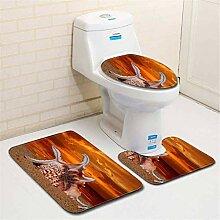 QWER Dreiteiliges Badezimmer Toilette Toilette