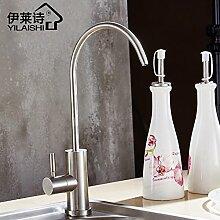 Qwer Edelstahl 304 Net tippen Sie auf Trinkwasser Wasserfilter reines Wasser Spender reines Wasser bleifreie Single Kalte Küche Tippen