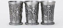 QWER Retro Classical Ägypten Mythos Mini Kupfer
