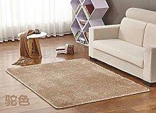 Qwer Upscale Carpet Lounge Couchtisch Schlafzimmer Bett Teppich Shop voll waschbar, 1,0 * 2,0 m, Farbe und Teppiche