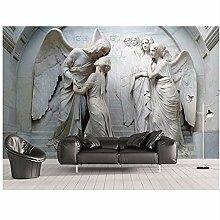 Qwerlp 3D Stereoskopische Tapete Menschen Angel