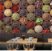 Qwerlp 3D-Wandtapete, modernes Muster, für Küche