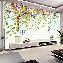 Qwerlp Benutzerdefinierte Fototapeten 3D Blume