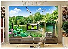 Qwerlp Einfache Landschaft Tapete Für Wände 3 D