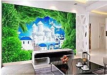 Qwerlp Tapete 3D Wandbilder Für Wohnzimmer