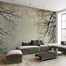 Qwerlp Wandbild Tapete Moderne Einfache Zweig