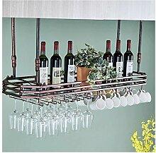 QWERTY Bar Hängen Weinregal Weinglas Rack,