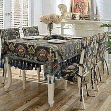 qwerty European-Style Dining Table Cloth/Haushalt