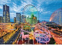 QWESD Puzzle Landschaft Bild Mini Mini Puzzle