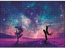 QWESD Puzzle Landschaft Bild Mini Puzzle Spielzeug