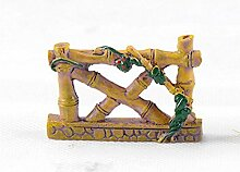 QWhing Dekorativ DIY Miniatur Gartenzaun Ornament
