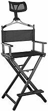Qwhome Regiestuhl Mit Stuhl Kopfstütze - Portable