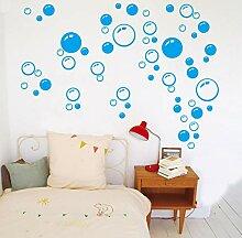 QWHUA Blase Wand Kunst Bad Fenster Dusche Fliesen