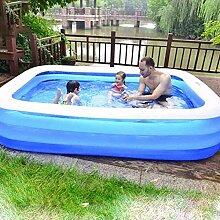 qwqqaq Aufblasbarer Pool Für 1-7