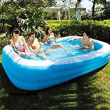 qwqqaq Große Aufblasbarer Pool Für 1-10