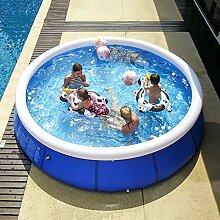 qwqqaq Große Aufblasbarer Pool Für Kinder