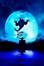 qwwqww Aladdin magische Lampe Erwachsenen Puzzle