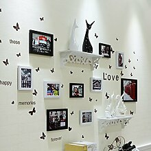 QX IAIZI Fotorahmen Wand Collage Für 10 Fotos,