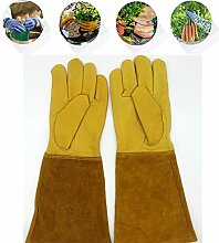Qxkl Rose Pruning Thornproof Gardening Gloves,
