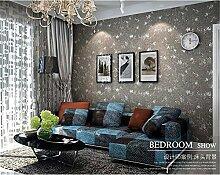 QXLML Einfarbige Vliestapete einfache moderne alte Retro-Tapete Wohnzimmer Schlafzimmer voller Tapete 10 * 0,53 (M) ( Color : A )