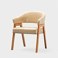 QXX Stuhl aus massivem Holz Nordic Stuhl Studie