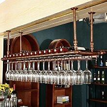 QXX Wein Stemware Racks Decke montiert hängenden